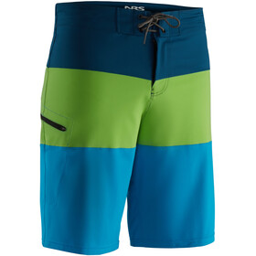 NRS Benny Boardshorts Heren, blue/green